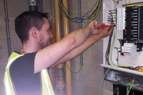 Fitting consumer unit